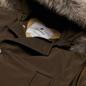 Мужская куртка парка Woolrich Arctic Detachable Fur Brown Olive фото - 1