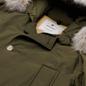 Мужская куртка парка Woolrich Arctic Detachable Fur Dark Green фото - 1