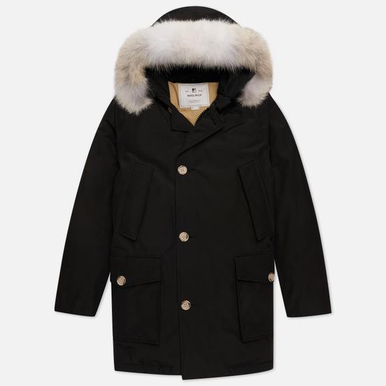 Мужская куртка парка Woolrich Arctic Detachable Fur New Black