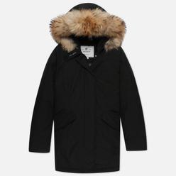 Женская куртка парка Woolrich Arctic Racoon Fur Black