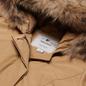 Женская куртка парка Woolrich Arctic Racoon Fur Gold Khaki фото - 1