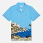 Мужская рубашка Lacoste Hawaiian Print Ibiza/Multi-Color фото - 0