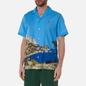 Мужская рубашка Lacoste Hawaiian Print Ibiza/Multi-Color фото - 2