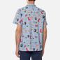 Мужская рубашка Lacoste Hawaiian Print Blue/White фото - 3