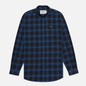 Мужская рубашка Lacoste Regular Fit Checkered Black/Blue Chine фото - 0