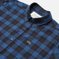 Мужская рубашка Lacoste Regular Fit Checkered Black/Blue Chine фото - 1
