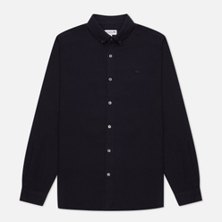 Мужская рубашка Lacoste Regular Fit Wool Navy Blue