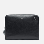 Hackett Pebble Slim Laptop Case Black photo- 0