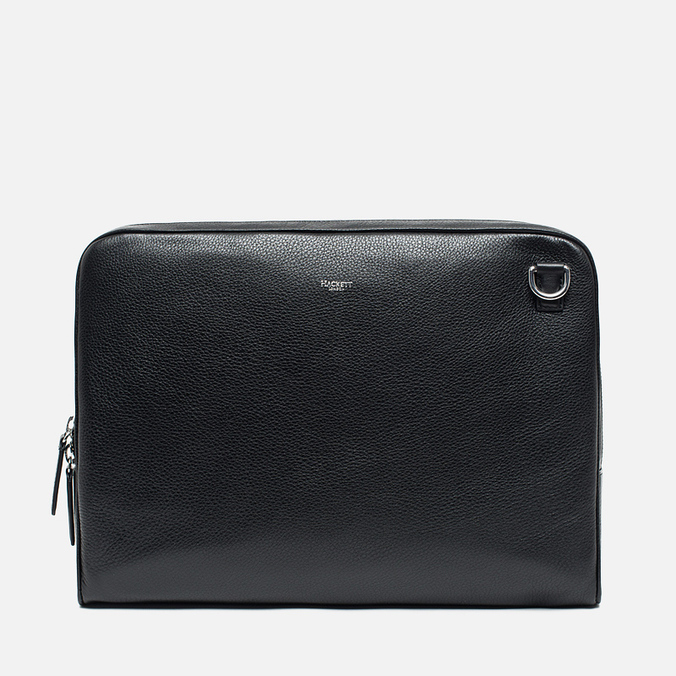 Hackett Pebble Slim Laptop Case Black