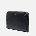 Hackett Pebble Slim Laptop Case Black photo- 1
