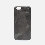 Чехол Master-piece Equipment iPhone 6 Leather Camo Black фото- 0