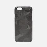 Master-Piece Equipment iPhone 6 Leather Case Camo Black photo- 0