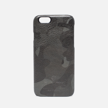 Master-Piece Equipment iPhone 6 Leather Case Camo Black
