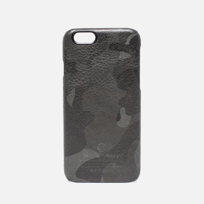 Master-Piece Equipment iPhone 6 Leather Case Camo Black