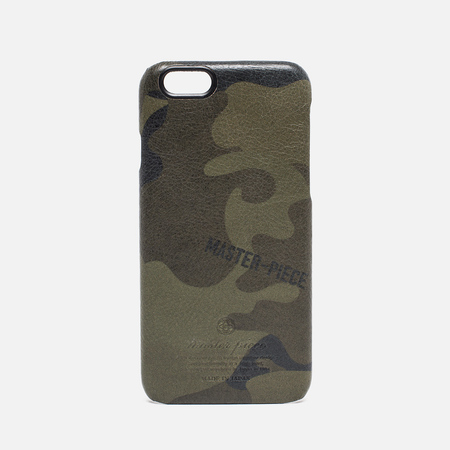 Master-Piece Equipment iPhone 6 Leather Case Camo Khaki