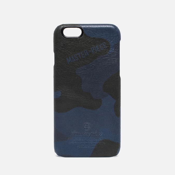 Чехол Master-piece Equipment iPhone 6 Leather Camo Navy