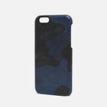 Чехол Master-Piece Equipment iPhone 6 Leather Camo Navy фото- 1
