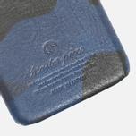 Чехол Master-Piece Equipment iPhone 6 Leather Camo Navy фото- 2