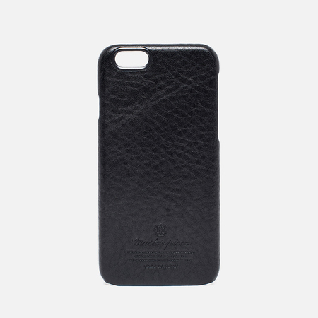Чехол Master-Piece Equipment Leather iPhone 6 Black