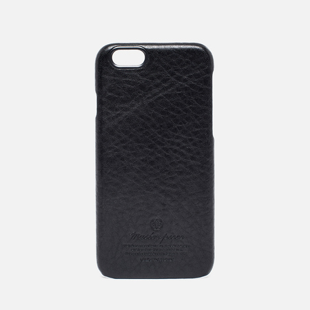 Master-Piece Equipment Leather iPhone 6 Case Black