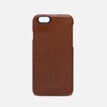 Чехол Master-piece Equipment Leather iPhone 6 Camel/Black фото- 0