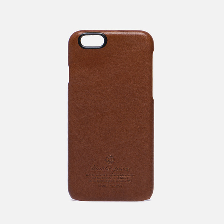 Чехол Master-piece Equipment Leather iPhone 6 Camel/Black