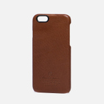 Чехол Master-piece Equipment Leather iPhone 6 Camel/Black фото- 1