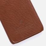 Чехол Master-piece Equipment Leather iPhone 6 Camel/Black фото- 2