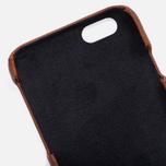 Чехол Master-piece Equipment Leather iPhone 6 Camel/Black фото- 3