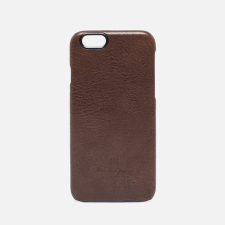 Master-Piece Equipment Leather iPhone 6 Case Choco