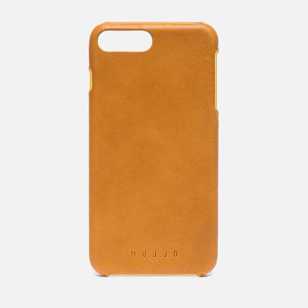 Чехол Mujjo Leather iPhone 7 Plus Tan