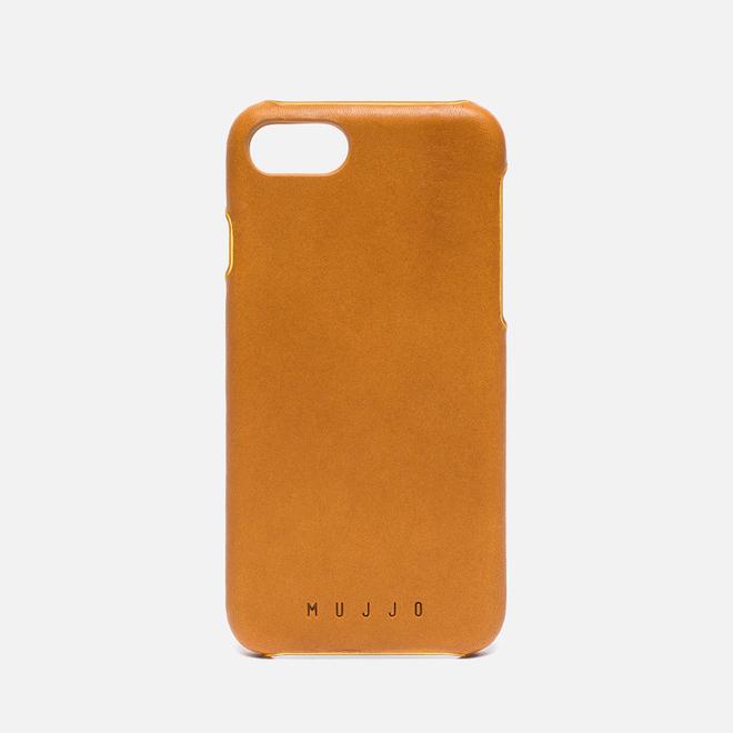 Чехол Mujjo Leather iPhone 7 Tan
