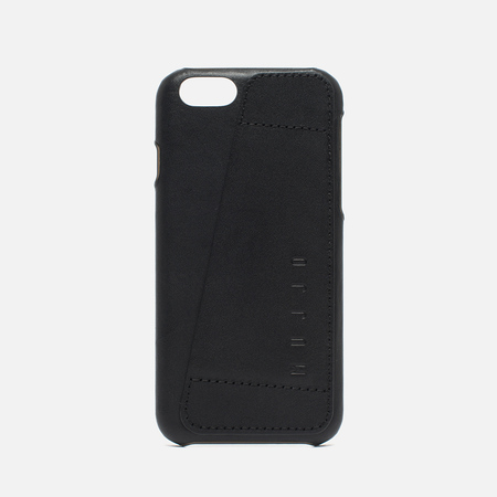 Mujjo Leather Wallet 80 IPhone 6/6s Case Black
