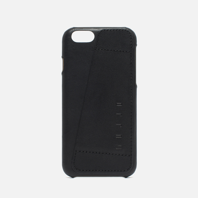 Чехол Mujjo Leather Wallet 80 IPhone 6/6s Black