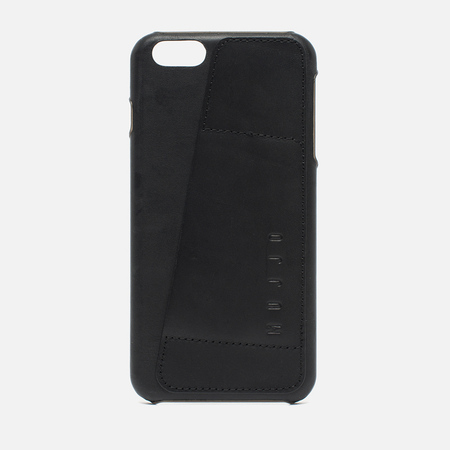 Mujjo Leather Wallet 80 IPhone 6 Plus Case Black