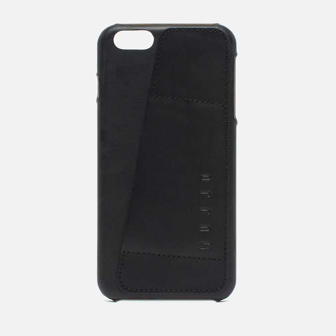 Чехол Mujjo Leather Wallet 80 IPhone 6 Plus Black