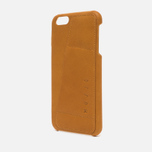 Чехол Mujjo Leather Wallet 80 IPhone 6 Plus Tan фото- 1