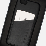 Чехол Mujjo Leather Wallet IPhone 6/6s Black фото- 7