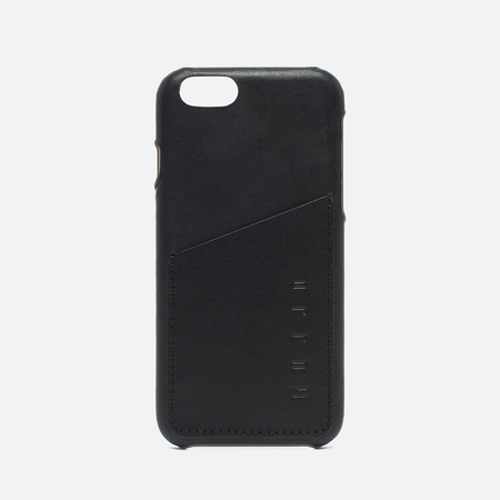 Mujjo Leather Wallet IPhone 6/6s Case Black