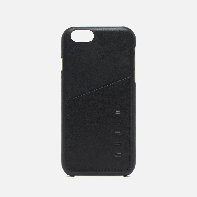 Чехол Mujjo Leather Wallet IPhone 6/6s Black