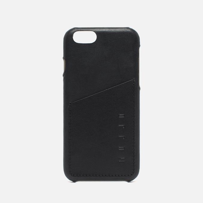 Чехол Mujjo Leather Wallet IPhone 6/6s Black