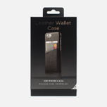 Чехол Mujjo Leather Wallet IPhone 6/6s Black фото- 5