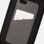 Чехол Mujjo Leather Wallet IPhone 6/6s Grey фото- 7