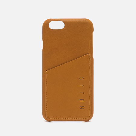 Чехол Mujjo Leather Wallet IPhone 6/6s Tan
