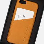 Чехол Mujjo Leather Wallet IPhone 6/6s Tan фото- 7