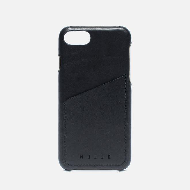 Чехол Mujjo Leather Wallet iPhone 7 Black