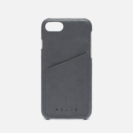 Чехол Mujjo Leather Wallet iPhone 7 Grey