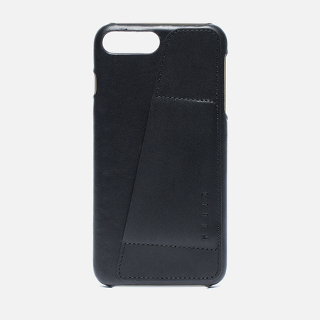 Чехол Mujjo Leather Wallet iPhone 7 Plus Black