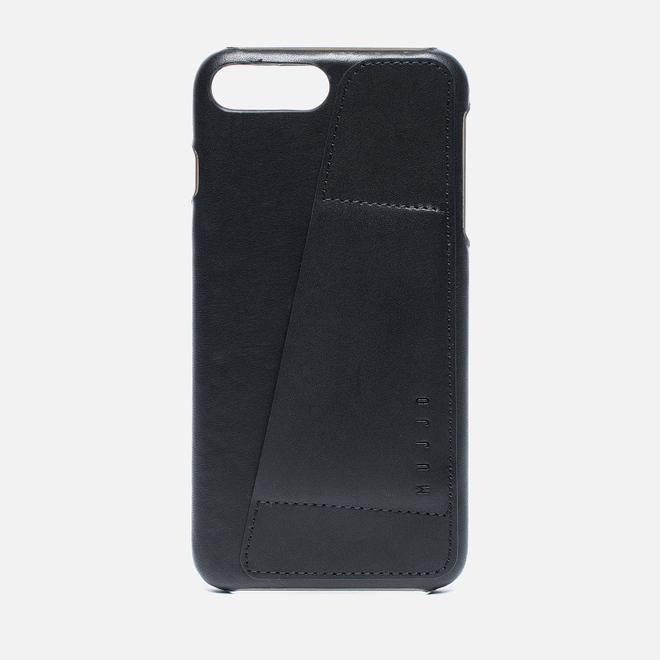Чехол Mujjo Leather Wallet iPhone 7 Plus Black