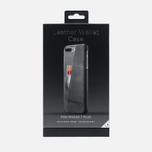 Чехол Mujjo Leather Wallet iPhone 7 Plus Grey фото- 3